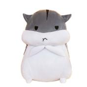 JYSPORT Plush Soft Toy Support Pillow Cute Hamster Pillow Animal Car Chair Seat Cushion