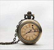 Peter Pan Necklace Watch .Peter Pan Jewellery Watch . Peter Pan Art Pendant Jewellery Watch