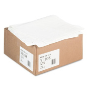 Paper Table Cover, Embossed, w/Plastic Liner, 140cm x 270cm , White, 20/Carton, Sold as 1 Carton