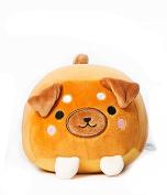 Scooshin Cute Ultra Soft 15cm Shiba Inu Dog Pumpkin Stuffed Animal Plush Toy