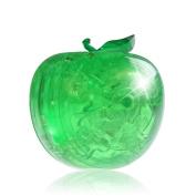 Original 3D Crystal Puzzle, Sacow Fruit Model Crystal Puzzle DIY Gadget Blocks Building Toys