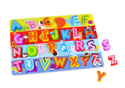 Finduq ABC Large Wooden Learning Puzzle