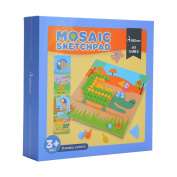 Mideer Mushroom Nails Jigsaw Puzzles Creative Mosaic Pegboard Educaltional Toy for Children