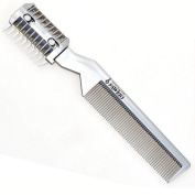 1 Pc Quality Professional Hair Razor Comb Hair Razor Cutting Thinning Comb Device Trimmer Comb with Blade