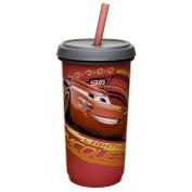 Zak Designs CRSG-0170 Cars 3 Straw Tumbler, 380ml, Multicolor