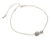 Cosanter Alloy Pineapple Bracelet Fashion Trend Lovely Girls Fruit Jewellery Accessories Silver