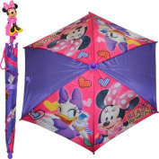 50cm Minnie Mouse Moulded Handle Umbrella