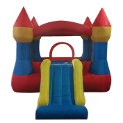 Christmas Gifts New Year Gifts Professional Children Inflatable Castle Jumping Bouncer with Slide for Indoor Outdoor US STOCK