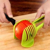La Tartelette Tomato Slicer Multifunctional Handheld Tomato Round Slicer Fruit Vegetable Cutter Lemon Shreadders Slicer