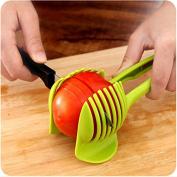 CH Tomato Slicer ,Multifunctional Handheld Tomato Round Slicer Fruit Vegetable Cutter,Lemon Shreadders Slicer