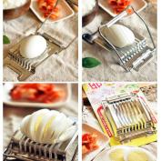 Weimay Multipurpose Stainless Steel Boiled Egg Slicer
