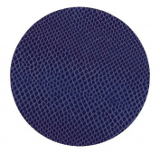 Entertaining with Caspari Snakeskin Pattern Coasters, Navy Blue, Set of 8