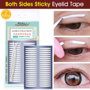 200 Pairs Invisible Double Side Eyelid Tape Self-Adhesive Eyelid Stickers for Perfect for Hooded, Droopy, Uneven, Mono-eyelids