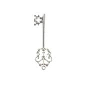 20X Vintage Silver Santas Magic Key Fairy Angels Key Party Xmas Tree Decor 7cm