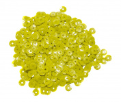 Mould Master Cup Sequins, Plastic, Yellow, 5 mm, 7 g