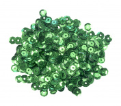 Mould Master Cup Sequins, Plastic, Green, 5 mm, 7 g