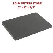 7.6cm LARGE GOLD SILVER PLATINIUM TESTING STONE TILE 7.6cm X 5.1cm X 1.3cm
