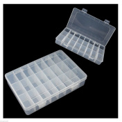 Plastic Storage Container - Ideal for beads craft and small parts storage