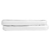 Phenovo Self Adhesive Hook and Loop Tape 16mm x 3m White