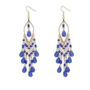 Drop Dangle Earrings, KEERADS Women Luxury Elegent Charm Bohemian Beads Stud Earrings