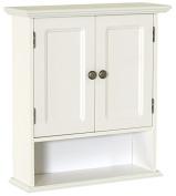 Zenna Home 9918WWA, Collette Wall Cabinet, White