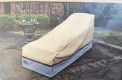 Seasons Sentry CVP01628 XL Chaise Lounge Cover, Sand
