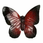 Red Butterfly Wall Art - large