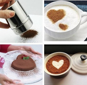 Liroyal Stainless Chocolate Shaker Icing Sugar Salt Cocoa Flour Coffee Sifter