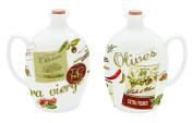 Nuova R2S 52vhco Vintage Olive Oil Jug 75 cl Porcelain