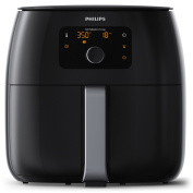 Philips Viva Collection Airfryer Xxl with Fat Removal Technology, 2225W, Extra Large Size for Entier Family-HD9650/99, 2225 W, 1.4 Litres, Black