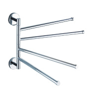 Swivel Stainless Steel Towel Rack
