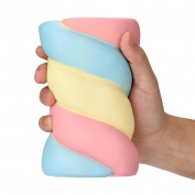 LCLrute 14.5cm Lovely Squishy Spun Sugar Scented Squishy Slow Rising Squeeze Stress Reliever Toys