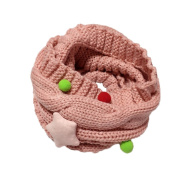 Tangbasi® Baby Scarf Boys Girls Winter Neck Warmer Knitted Kids O Ring Neck Scarf Mufflers