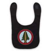 Inspired by Twin Peaks Bookhouse Boys Badge Unofficial Baby Bib, Black