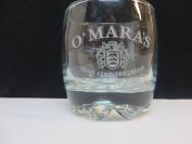 O'mara's Irish Country Cream Glass Pat O'Mara Etched Signature