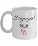 Recently Engaged Mug 2018 - Engagement Coffee Mugs