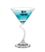 Crystal Cocktail Glass Martini Glass Triangle Glass-Bent Martinis