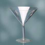 Plastic Martini Glass 23cm Cup Candybar Decoration For All Party Occasion