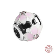 MOCCI Spring Collection 925 Sterling Silver Magnolia Bloom Charm Bead Fits Pandora Bracelets Diy Jewellery Making