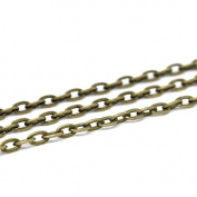 creafirm . 10 m Bronze Forçat Chain 4.5x3 mm