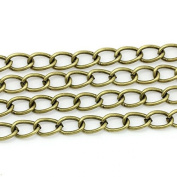 creafirm . 3 m Chain Bronze 8.5x5.5 mm Mesh Curved