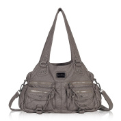Veevan Ultra Soft Vegan Leather Classic Hobo Style Shoulder Handbags