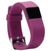 Extreme Fitness Heart Rate Activity Tracker Smartwatch Purple