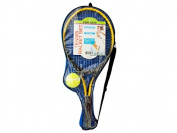 Bulk Buys OD917-1 Kids Tennis Racket Set With Ball