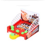 E-SCENERY Ball Mini Shoot & Score Game, Desktop Table Finger Basketball Board Games, Fun Sports Toy for Kids Educational Toy