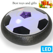 Kids Toys Amazing Suspended Football with LED Light,Children Toys Hover Disc Gliding Ball for Indoor or Outdoor with Parents Game by LRCXL.