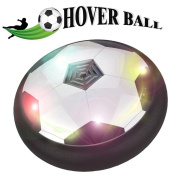 Kids Air Hover Ball Football, Woopower Colourful Lights Children Hanging Toys Air Cushion Suspended Soccer Indoor Outdoor Sports Parent-Child Play Multiplayer Interactive Game