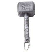 CH Silver Plastic Hammer Beer Opener Hammer Corkscrew Kitchen Gadget