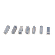 MultiWare 7 pcs DIY Silicone Gem Beads Pendant Moulds Mould Resin Making Shaping Tool