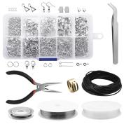 Dreamtop Jewellery Making Kit Jewellery Findings Set Jewellery Repair Tool Pliers Beads Wires Starter Tool